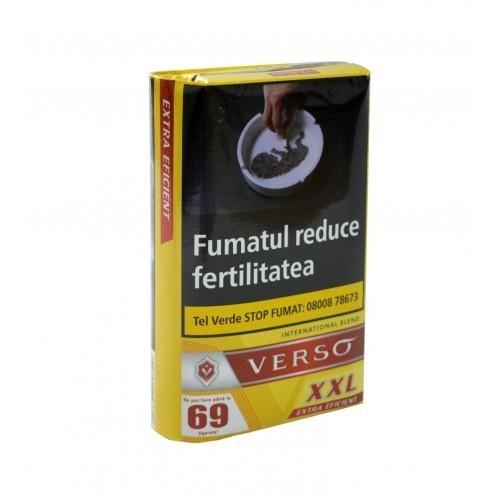 Tutun pentru rulat sau injectat Verso XXL 30g