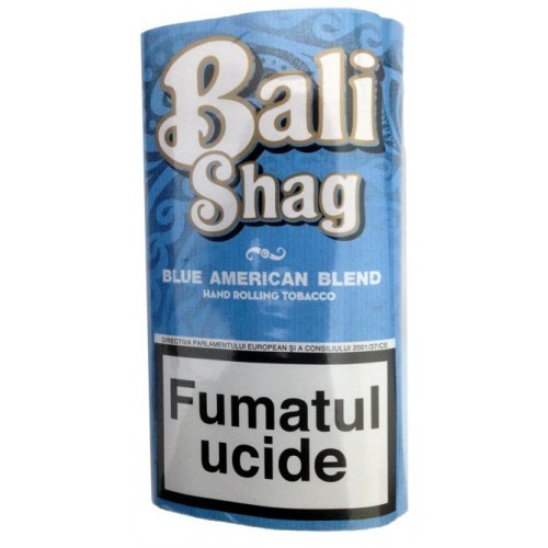 Tutun pentru rulat sau injectat Bali Shag Blue American 40g
