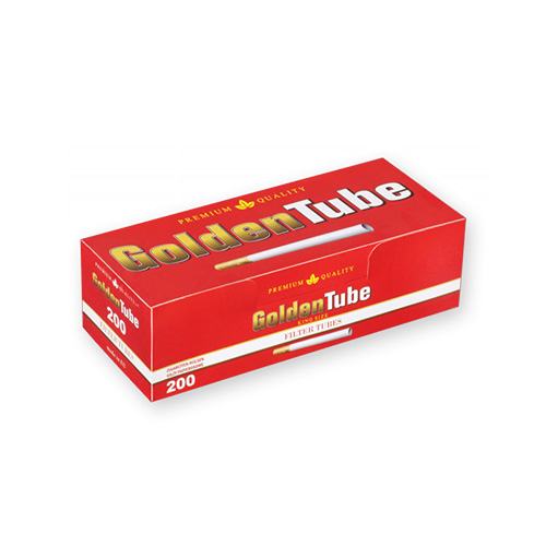 Tuburi de tigari Golden Tube 200 red