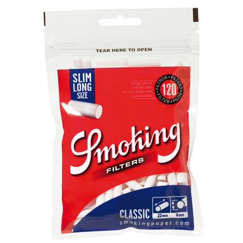 Filtre Smoking Slim Long
