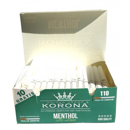 Tuburi de tigari Korona 100+10 Menthol