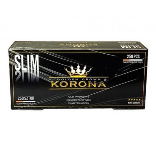 Tuburi de tigari Korona 250 Slim Black