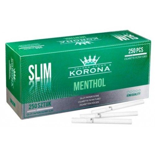 Tuburi de tigari Korona Menthol Slim 250