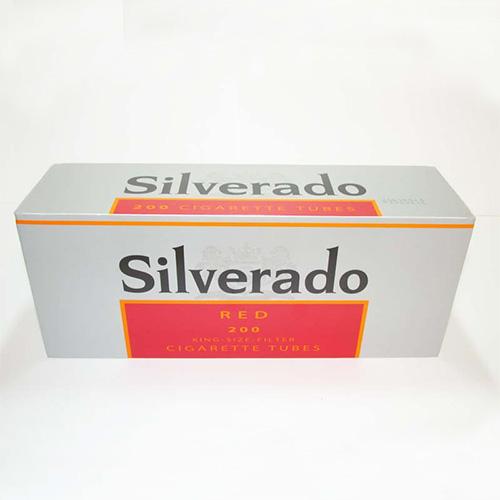 Tuburi de tigari Silverado Red 200