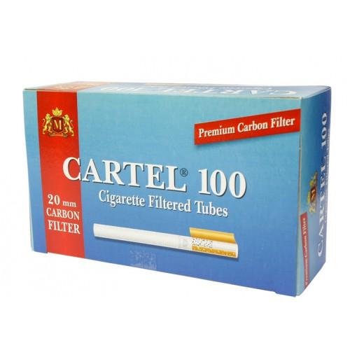 Tuburi de tigari Cartel 100 filtru carbon