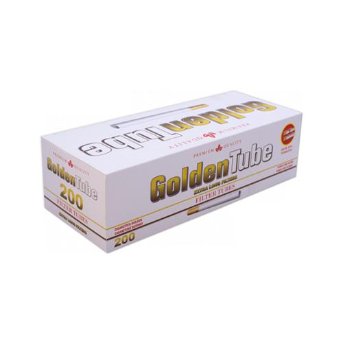 Tuburi de tigari pentru injectat tutun Golden Tube Red Extra