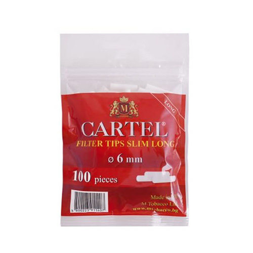 Filtre Cartel Slim Long 6 MM
