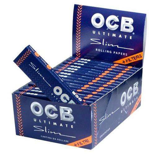 Foite pentru rulat tigari OCB Ultimate mari+filtre