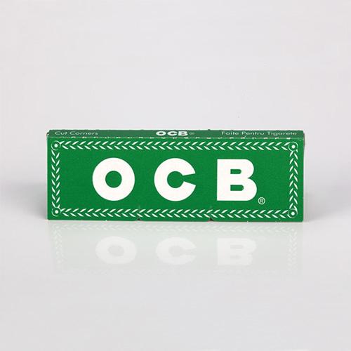 Foite pentru rulat tigari OCB verzi mici