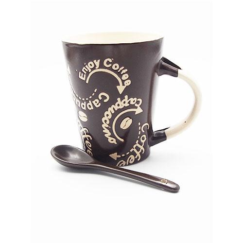 Cana model coffee cu lingurita