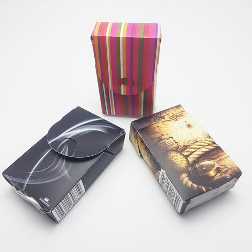 Tabachere carton plastifiat diferite modele