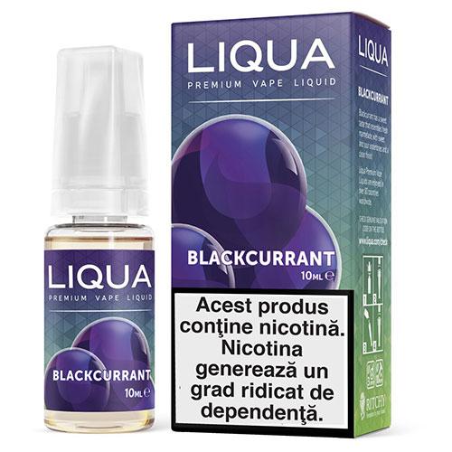 Lichid pentru tigara electronica Liqua Blackcurrant-18mg