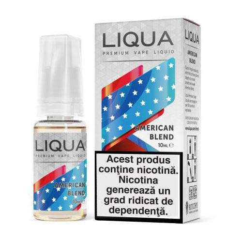 Lichid pentru tigara electronica Liqua American Blend-18mg
