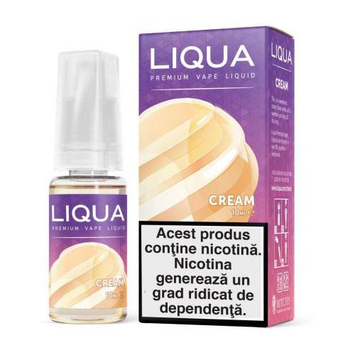 Lichid pentru tigara electronica Liqua Cream-6mg