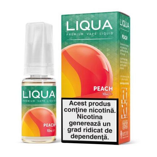Lichid pentru tigara electronica Liqua Peach-6mg