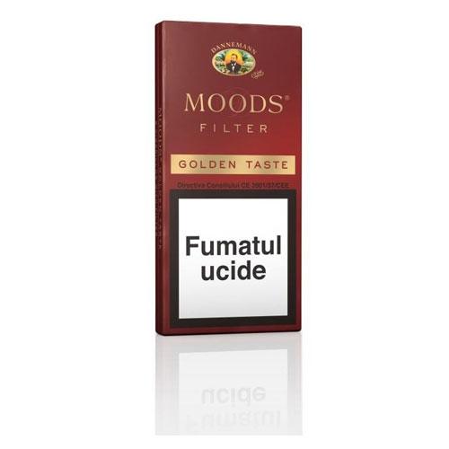Tigari de foi Moods Filter Golden Taste