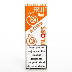 Lichid pentru tigara electronica Bloss-10ml-Nectarin-6mg