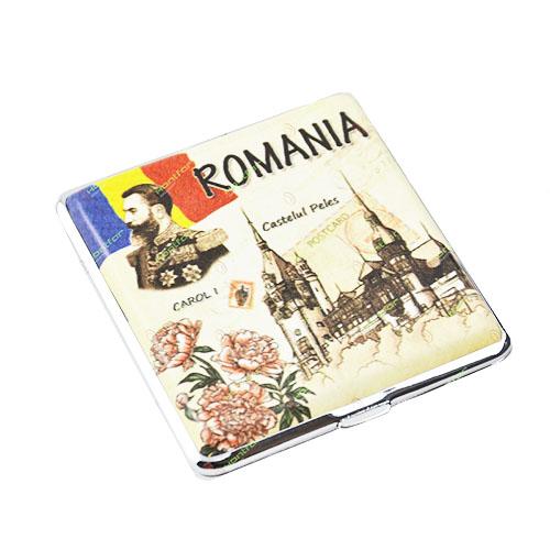 Tabachera Romania Carol I Tabachera pentru tigaratele de lungime standard.