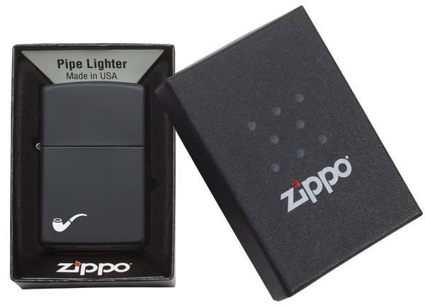 Bricheta Zippo Pipe BlackMatt