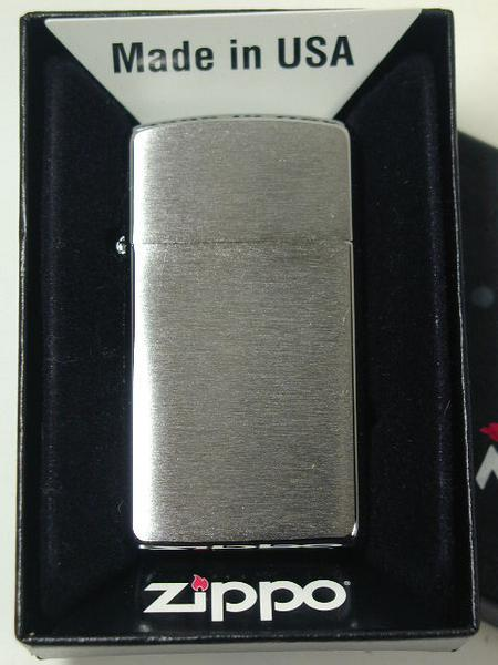 Bricheta Zippo Chrome Brush Slim