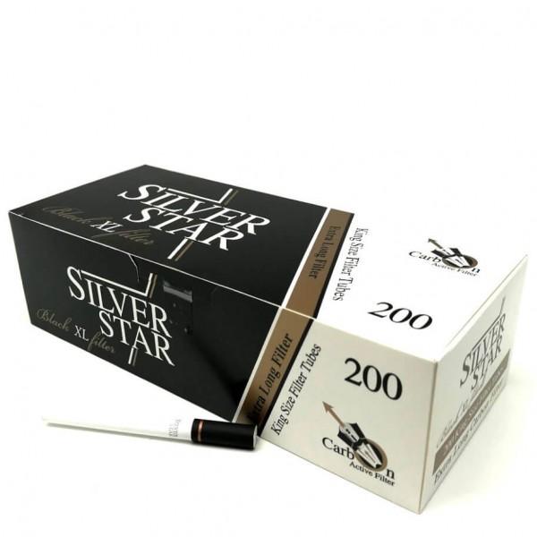 Tuburi Tigari Silver Star BLACK XL Carbon-Activ 200