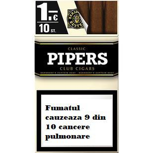 Tigari de foi Pipers Classic Club Cigars