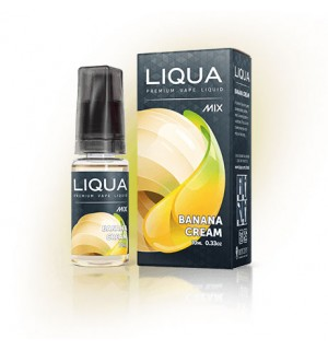 Lichid pentru Tigara Electronica Liqua MIX, 0 MG/10ml, Banana Cream