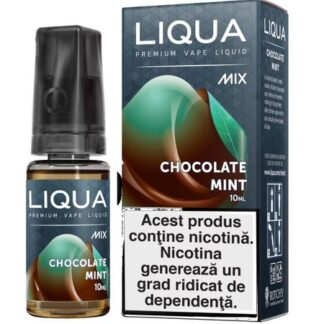 Lichid pentru Tigara Electronica Liqua Mix Chocolate Mint 0mg/ml 10 ml