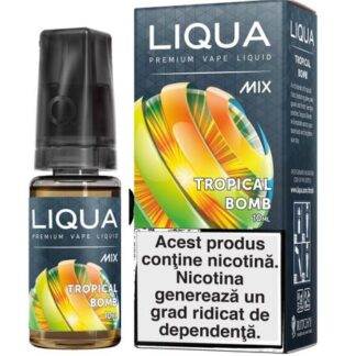 Lichid pentru Tigara Electronica Liqua Mix Tropical Bomb 0mg/10ml