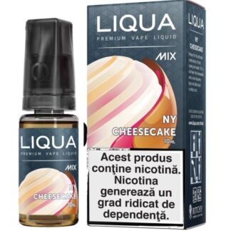 Lichid pentru Tigara Electronica Liqua Mix NY Cheesecake 0mg/ml 10 ml