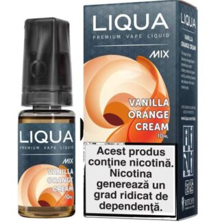 Lichid pentru Tigara Electronica Liqua Mix Vanilla Orange Cream 0mg/10ml